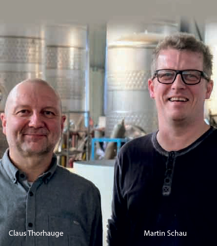 Claus Thorhauge, CEO and Martin Schau, Bryggeriudstyr ApS