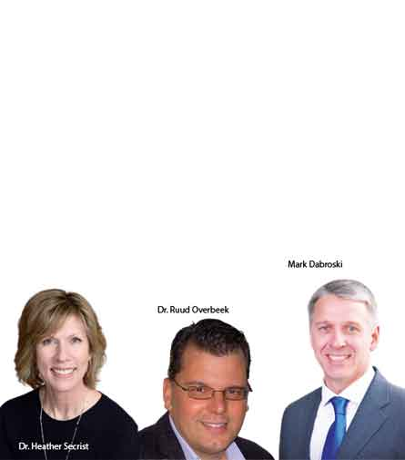 Dr. Heather Secrist, Sr. Vice President, Americas at FCID. Dr. Ruud Overbeek, Mark Dabroski, SVP, Commercial Services, FoodChain ID