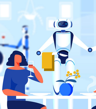 4 Significant Problems Solved by AI in the Restaurant Business